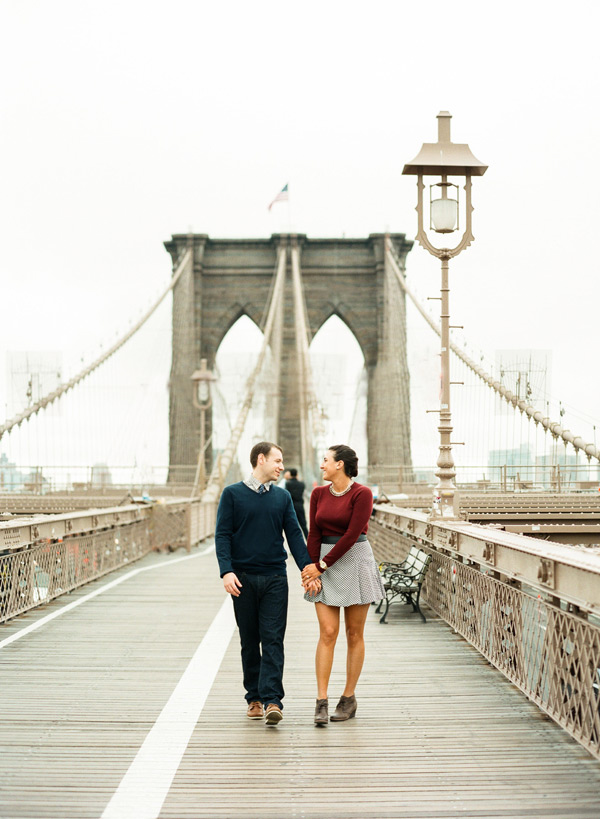 Brooklyn Bridge Engagement Pictures-Lindsay Madden Photography-3