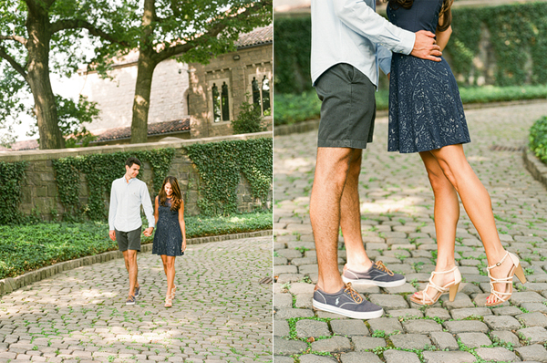 The Cloisters Engagement- Lindsay Madden Photography-3